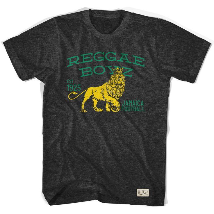 Jamaica Reggae Boyz Soccer T-shirt
