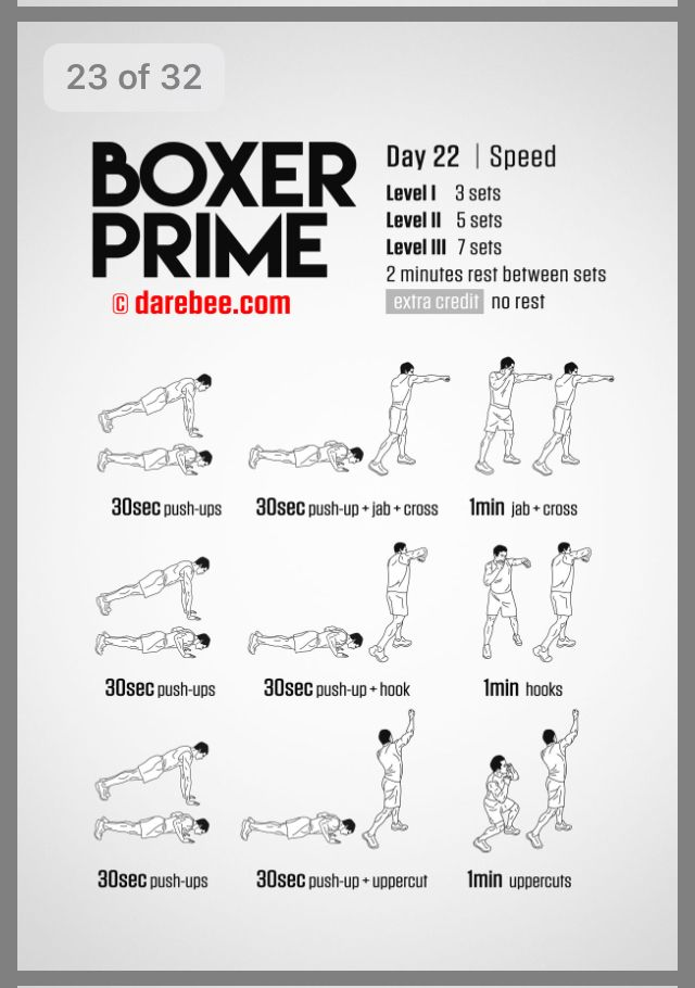 Pin By Brrooke On Darebee Boxing Workout Routine Boxing Training Workout Boxer Workout