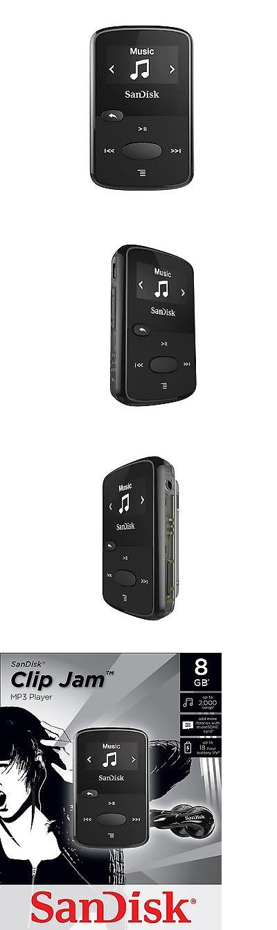iPods and MP3 Players: Sandisk 8Gb Clip Jam Mp3 Player (Black) BUY IT NOW ONLY: $33.54