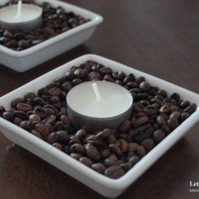 Kávová dekorace do vašehobytu
