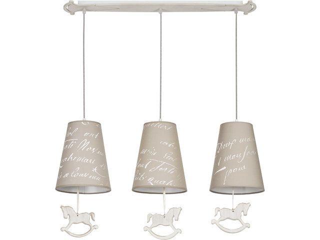 Lampa wisząca dziecięca PONY III 6380 - Cudowne Lampy