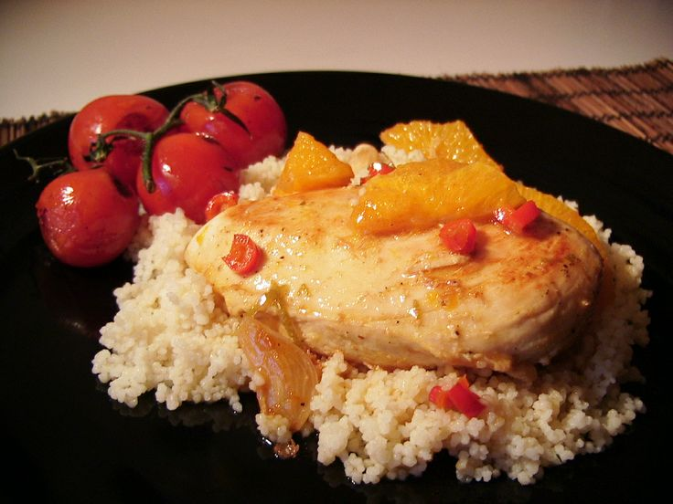 Keys-Style Citrus Chicken   Keys-Style Citrus Chicken just like they make it in Florida. I travelled all the down to the Key's and stopped at a Awesome   waterfront  Diner and ordered this dish... Had to copy the recipe with it's tangy flavours and on top of  couscous you can not go wrong.