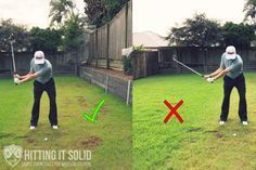 The right and the wrong way to get more lag in the golf swing