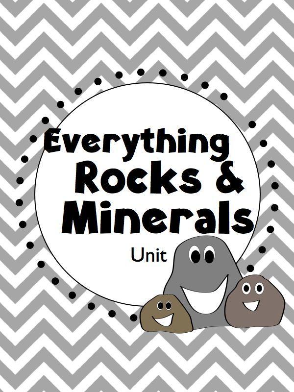 32 Best Grade 3 Science Rocks Minerals Images On Pinterest