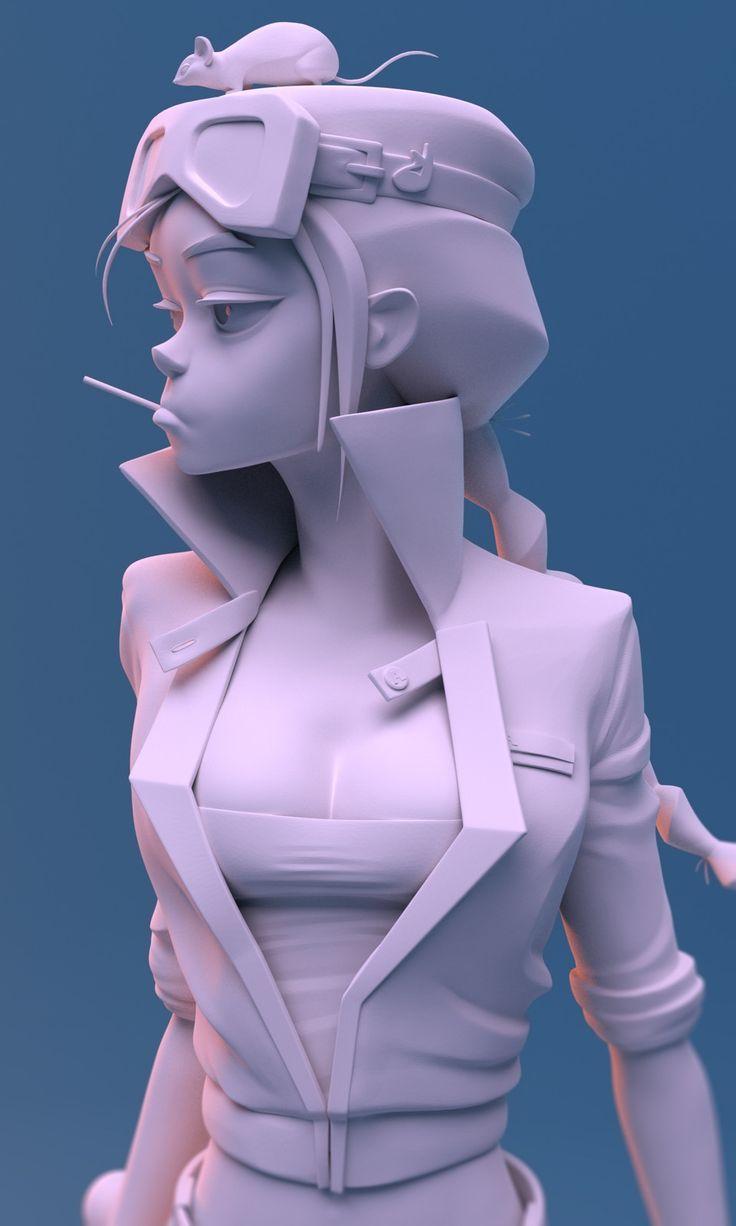 Mouse, Paul Deasy on ArtStation at https://www.artstation.com/artwork/zW2ow