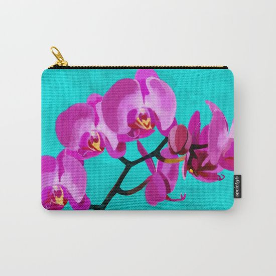 Orchid pink Carry-All Pouch