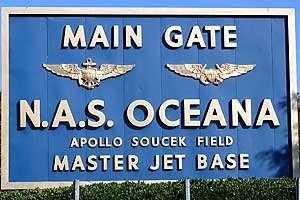 Oceana Naval Base, Virginia Beach, Virginia... Stationed here for a while :)