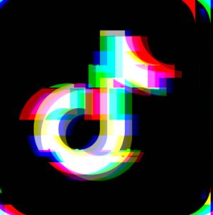 Tik Tok Glitch Theme Icon in 2020 | Wallpaper iphone neon ...