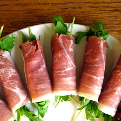 Simple, easy to prepare, Prosciutto Wrapped Fig and Arugula makes a great starter course for any meal or, may be served as passed appetizers without the dressing.