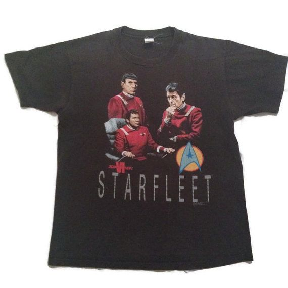 90's Star Trek VI Tshirt / 1990's The by RetroFreshTees on Etsy, $28.00