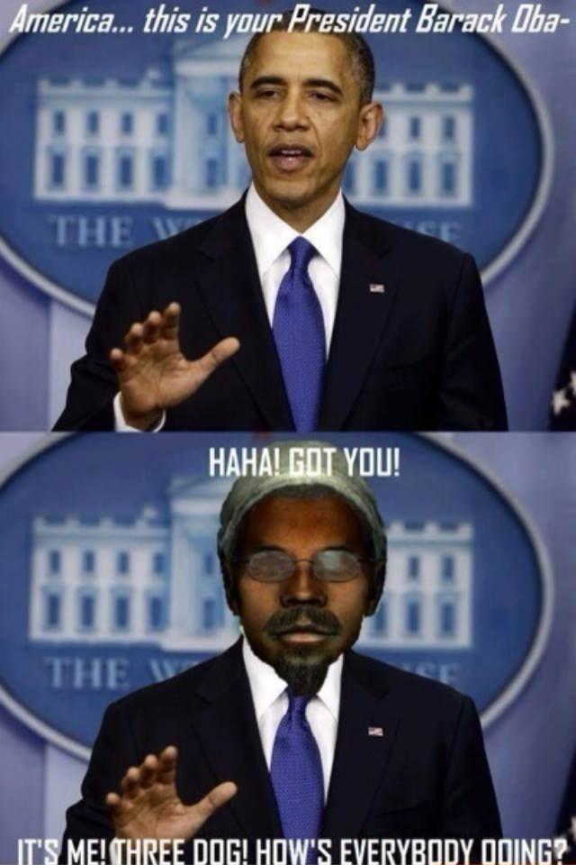 Barack Obama in Fallout 3