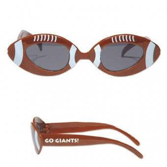 Score a hat trick in your next campaign by gifting away these custom football glasses!  #sports #football #sunglasses