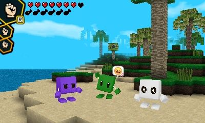 """Cube Creator DX - Version 1.1 hits Japan   More screens here  Version 1.1  - new items - new functions - new worlds - """"Space"""" theme added - """"Retro"""" theme added - bring items with you when you play online - store items when playing online - new options for your avatar including shoes and accessories - Holy Stone added to survival which keeps monsters/animals away from you - overall adjustments to gameplay and minor bug tweaks  from GoNintendo Video Games"""