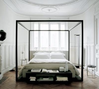 love modern 4 poster beds