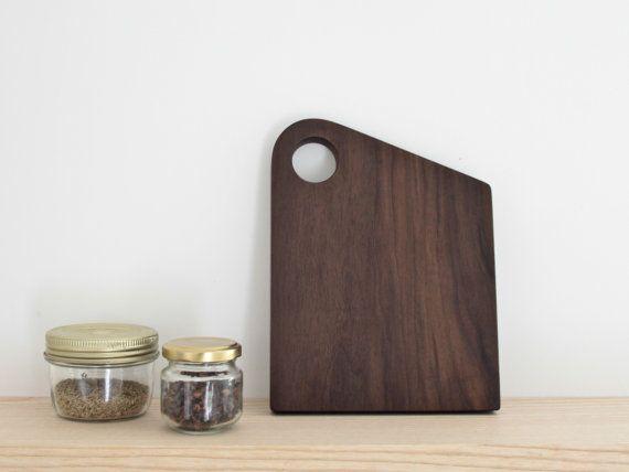 Cutting board chopping board tray table mat - oiled walnut