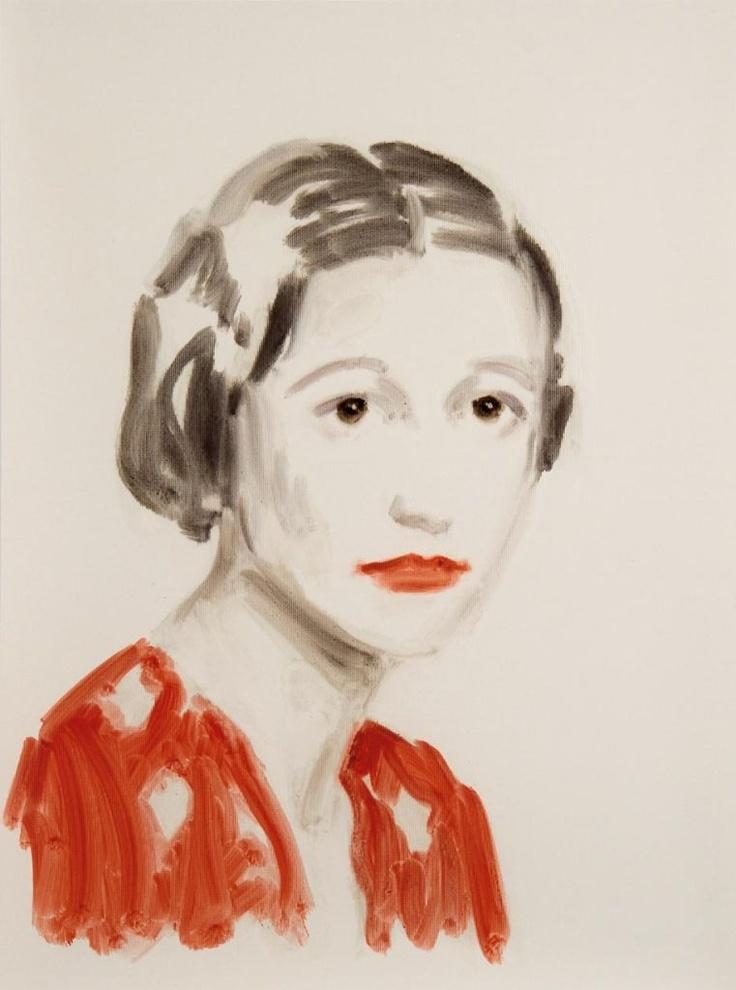 Wallis Simpson // Annie Kevans 2010: 2010 Art 1Stdibs Com, Paintings Art, Artists, Art Paintings, Annie Kevan, Kevan 2010, Brushes Strokes, Art Illustration, Art Portraits