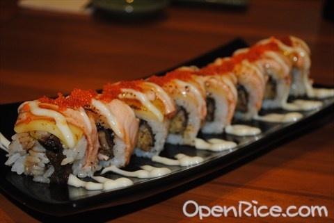 Unagi Salmon Special, see more at id.openrice.com