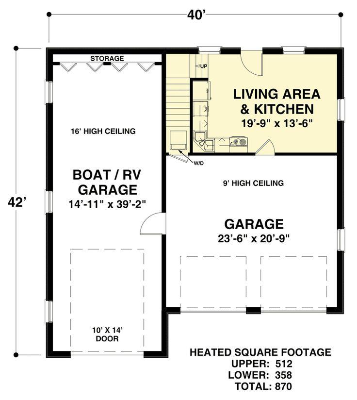 15 best rv garages images on pinterest garage ideas rv for Rv garage with apartment