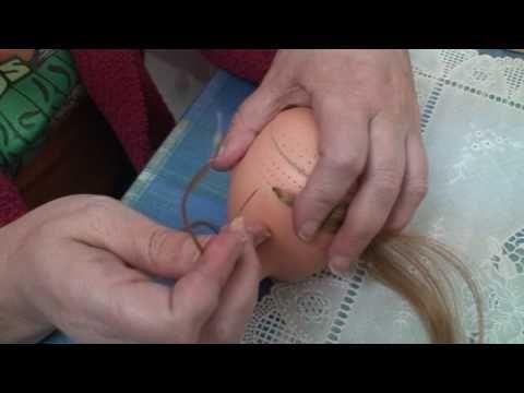 Tutorial Implantación de Cabello a Muñeca Nancy - YouTube