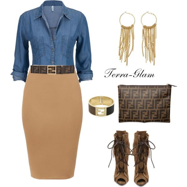 A fashion look from June 2015 featuring Giuseppe Zanotti ankle booties, Fendi clutches and Fendi bracelets. Browse and shop related looks.