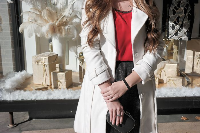 Closet Full of Thrills {One Holiday Top, Two Festive Looks}