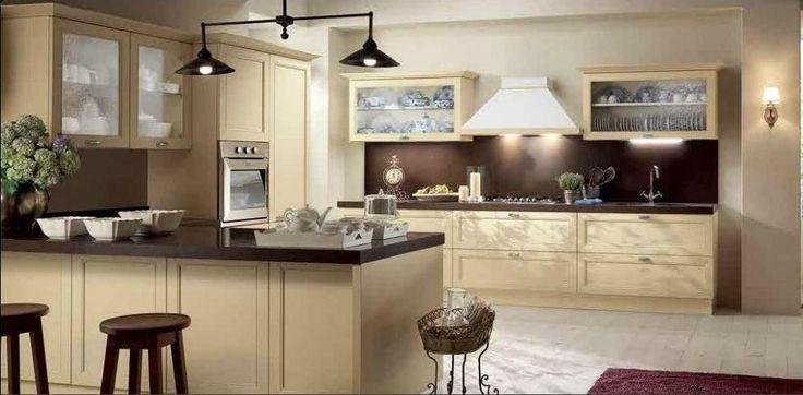 Best 2014 Kitchen Ideas With Cream Cabinets Sleek Looking 400 x 300