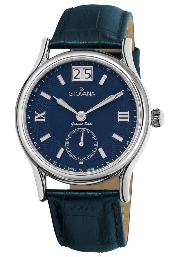 Price:$363.16 #watches Grovana 1725.1535, Grovana is a firm that has made a name for itself in the Swiss watch making industry through innovation and flexibility. Up to the 1970s it made mechanical watches that were always state of the art.