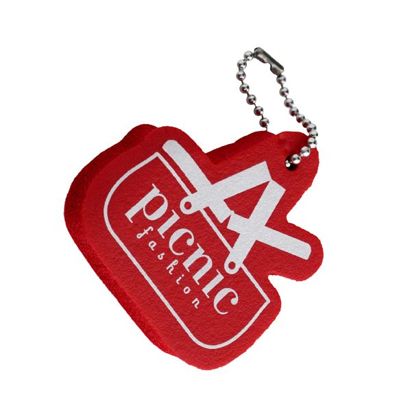 picnic fashion signature floating keychain - photo by Eric Roth #CapeCodChristmas