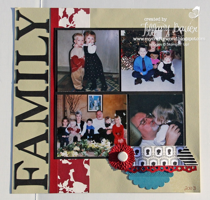 My Crafty World: We Are Family