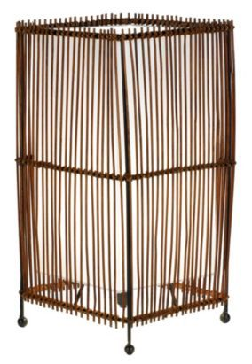 Create some beautiful ambiance in your home with this Joyce Rattan table lamp #Lights #BalticSummer