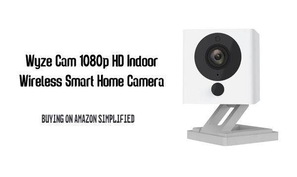 Wyze Cam 1080p Hd Indoor Wireless Smart Home Camera With Images Home Camera Buying Camera Smart Home