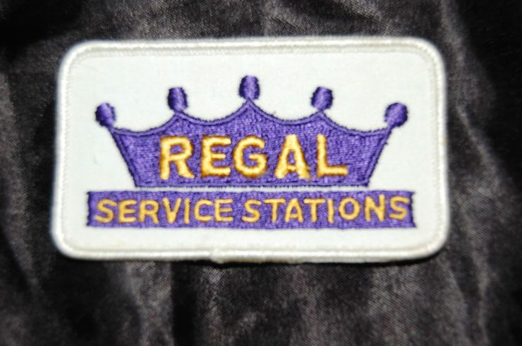 Regal Service Stations, Gas Station Patch 1960's, New Old ...