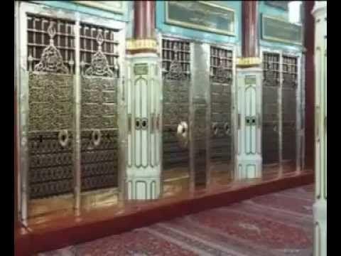 قبر النبي وصاحبيه أبوبكر وعمر تصوير رائع ~ لأول مره يعرض من مركز أبحاث ا...