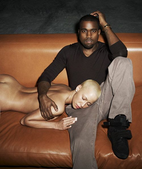 Kanye West Girlfriend Shaved Head