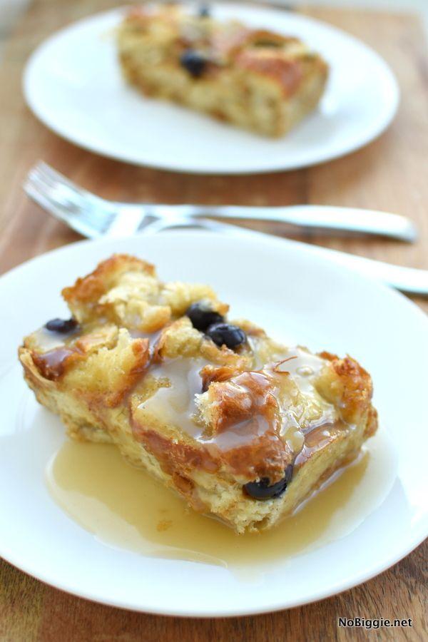 Croissant Bread Pudding Nobiggie Bread Pudding With Croissants Croissant Bread Chocolate Bread Pudding