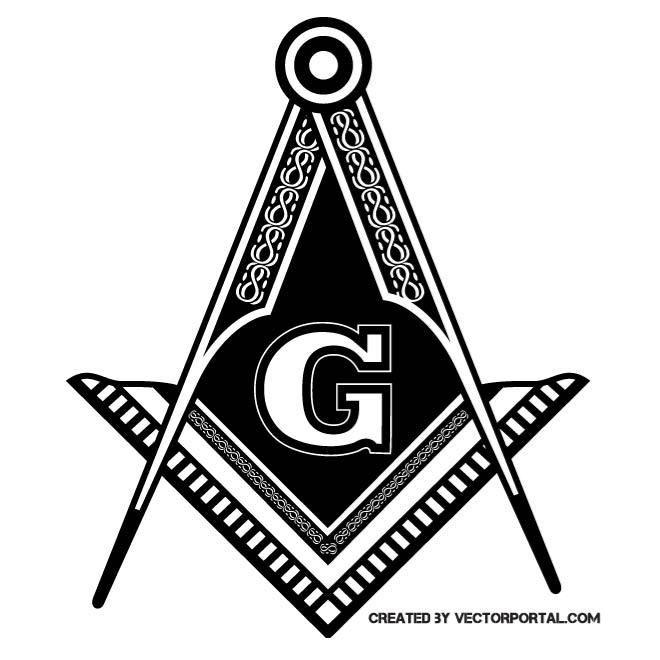 Masonic symbol in vector format.