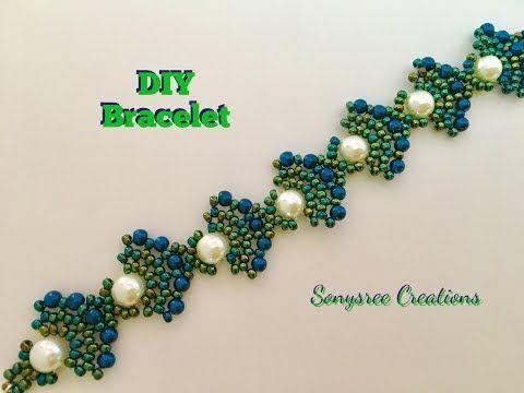 How to:- DIY Zigzag Heart ❤️ Bracelet - YouTube
