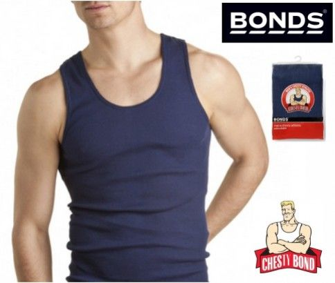3 Packs of Chesty Bonds Singlet. Made of pure cotton it provides extra comfort.  Available in 4 colors: White, Black, Grey and Navy. Grab from #ikOala at just $37.99 delivered.