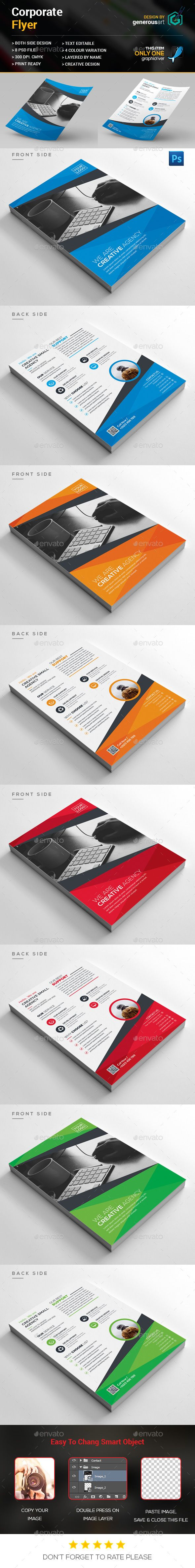 Corporate Flyer Template PSD. Download here: http://graphicriver.net/item/corporate-flyer/15486514?ref=ksioks