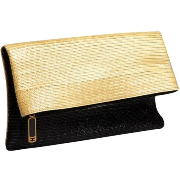 Pre-owned Fendi Beige Clutch Bag (5,175 PEN) ❤ liked on Polyvore featuring bags, handbags, clutches, beige, women bags clutch bags, zipper pouch, summer purses, fold over purse, monogrammed handbags and zip purse