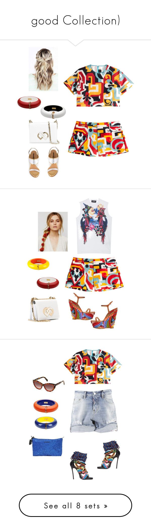 """""""good Collection)"""" by eshlychenko ❤ liked on Polyvore featuring beauty, Dsquared2, Free People, Chicwish, Faith Connexion, Topshop, Fendi, Stephanie Kantis, HIRSCHELL and DKNY"""