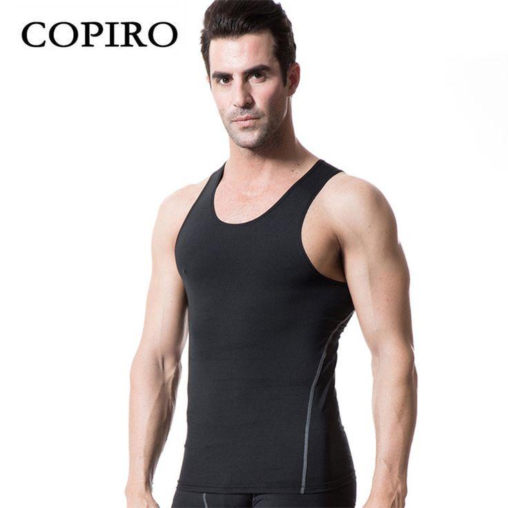 Copiro Chaleco Running Hombre Tights Vest Gym Tank Top Mens Bodybuilding Ropa De Fitnes Licras Deportivas Camiseta Baloncesto