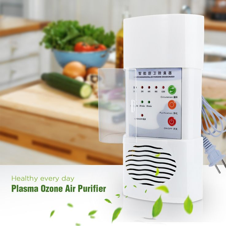 Plasma Ozone Air Purifier Home Office Germicidal Electric Oxygen Concentrator Filter Cleaner Deodorizer White Chinese Plug