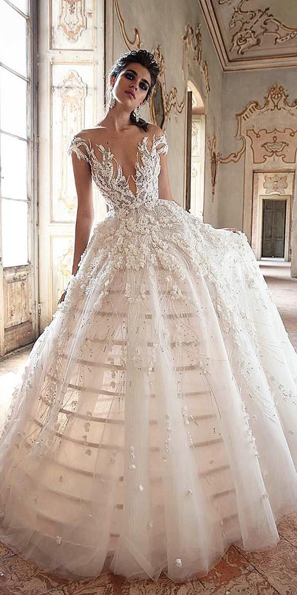 Vestiti Da Sposa For You.24 Lace Ball Gown Wedding Dresses You Love Abiti Da Sposa