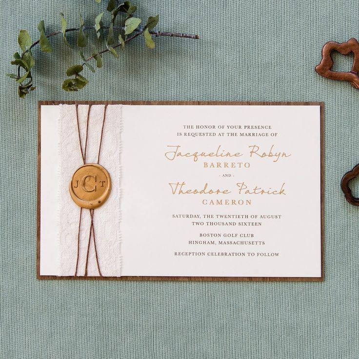 monogram wedding envelope seals sticker%0A Jacqueline Wedding Invitation