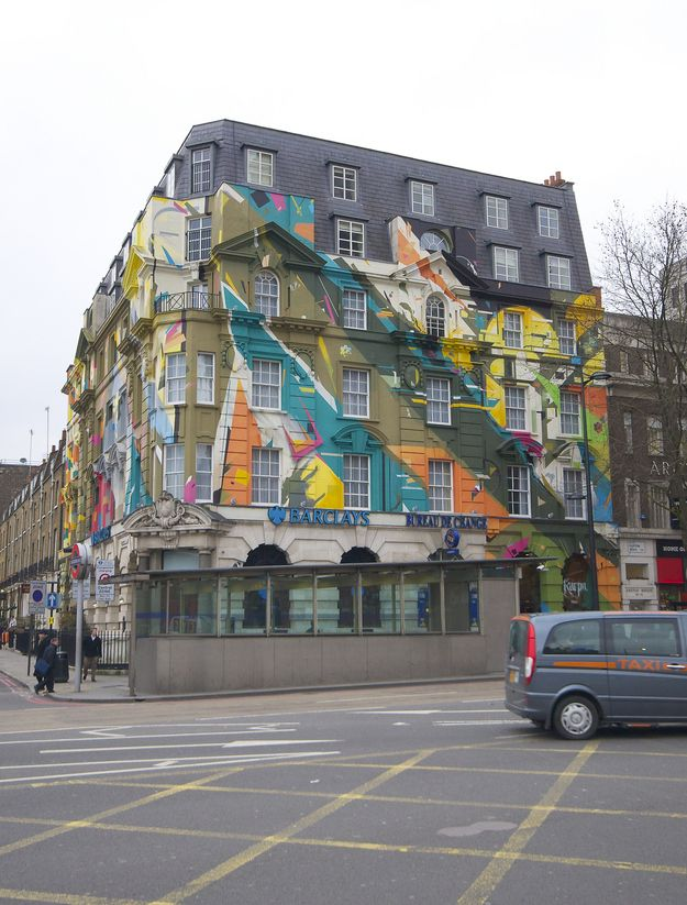 Kings Cross, London | 15 Colorful Buildings That Will Brighten Up Your Day