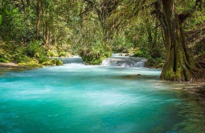 Río Azul. Jacaltenango, Huehuetenango, Guatemala