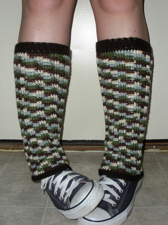 Long crochet Leg Warmers for women or juniors in by luvbuzz,