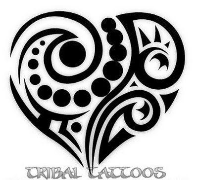 1000+ ideas about Tribal Heart Tattoos on Pinterest ...
