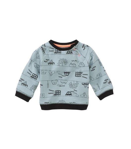 baby jongens sweater - HEMA